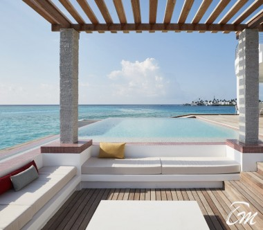 LUX* North Male Atoll Lux* Over Water Retreat Deck