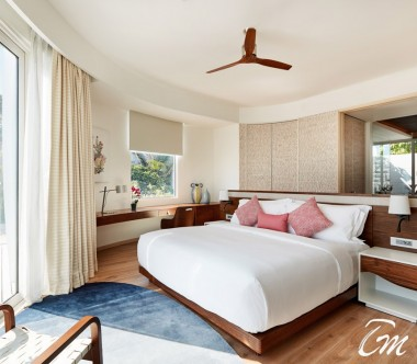LUX* North Male Atoll Beach Residence Bedroom Interior