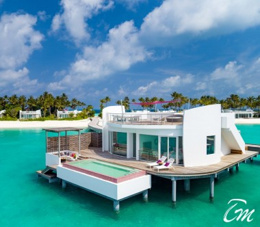 LUX* North Male Atoll Deluxe Water Villa Exterior