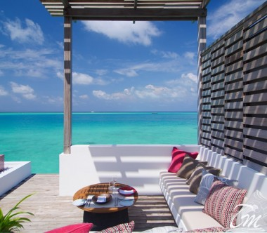 LUX* North Male Atoll Deluxe Water Villa Pool Deck
