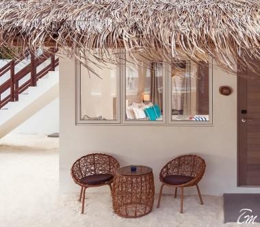 Malahini Kuda Bandos Resort Deluxe Room Exterior