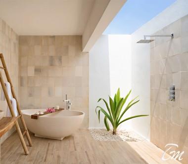 Mövenpick Resort Kuredhivaru Maldives Beach Pool Suite Bathroom