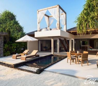Mövenpick Resort Kuredhivaru Maldives Beach Pool Suite Exterior