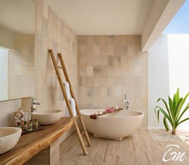 Mövenpick Resort Kuredhivaru Maldives Beach Pool Suite Sunrise Bathroom