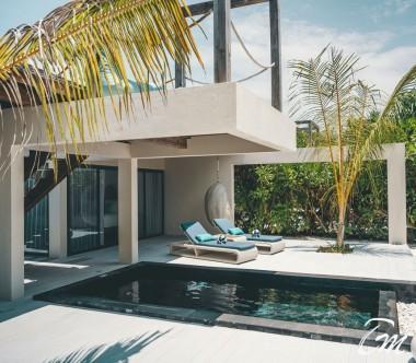 Mövenpick Resort Kuredhivaru Maldives Beach Pool Suite Sunrise Exterior