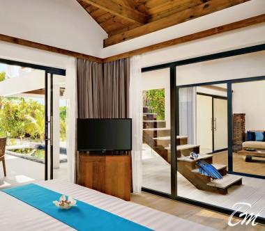 Mövenpick Resort Kuredhivaru Maldives Beach Pool Suite Sunrise Interior