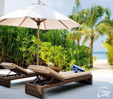 Mövenpick Resort Kuredhivaru Maldives Beach Pool Suite Sunset Beach