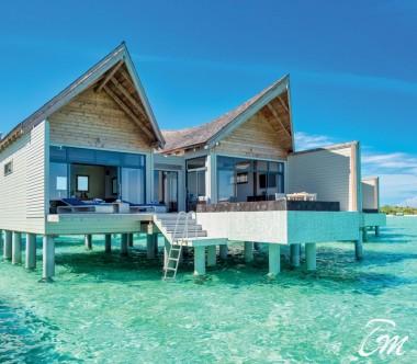 Mövenpick Resort Kuredhivaru Maldives Overwater Pool Villa Lagoon Exterior