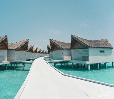 Mövenpick Resort Kuredhivaru Maldives Overwater Pool Villa Sunrise Lagoon Exterior