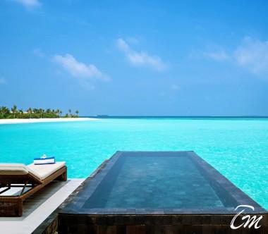 Mövenpick Resort Kuredhivaru Maldives Overwater Pool Villa Sunrise Lagoon Pool