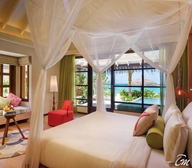 OBLU SELECT at Sangeli Maldives Beach Villa Bed Room View