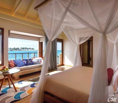 OBLU SELECT at Sangeli Maldives Water Villa Bed Room View