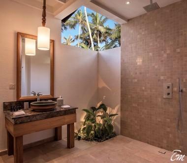 OBLU SELECT at Sangeli Maldives 2 Bedroom Beach Pool Suite Kids Bath Room Interior