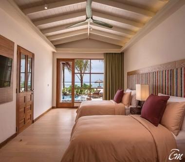 OBLU SELECT at Sangeli Maldives 2 Bedroom Beach Pool Suite Kids Bedroom Interior