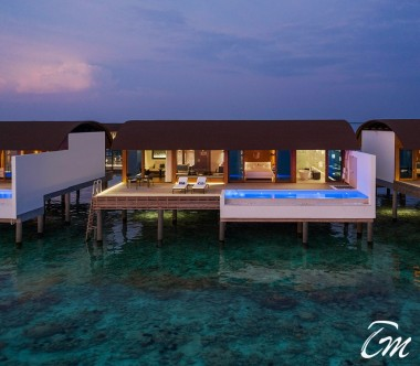 The Westin Maldives Miriandhoo Resort Overwater Villa Pool