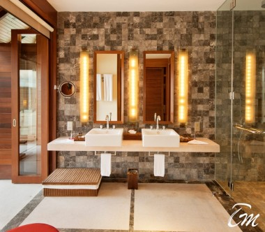 Paradise Island Resort, Maldives Water Villa Bathroom