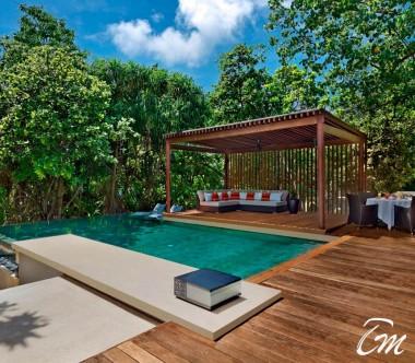 2 Bedroom Park Pool Villa deck- Park Hyatt Maldives