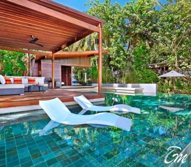 2 Bedroom Park Pool Villa Exterior - Park Hyatt Maldives