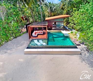 Deluxe Park Pool Villa Exterior - Park Hyatt Hadahaa Maldives