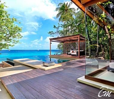 Deluxe Park Pool Villa Deck- Park Hyatt Hadahaa Maldives