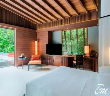 Luxury Park Pool Villa Interior - Park Hyatt Maldives