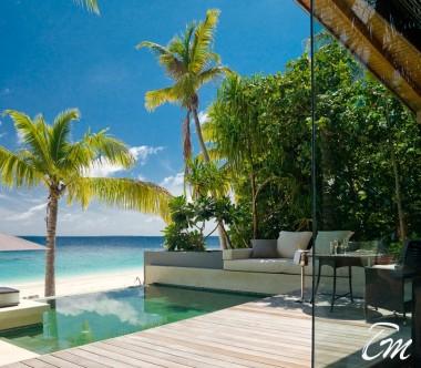 Luxury Park Pool Villa Ocean Face - Hadahaa Resort Maldives