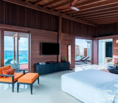 Park Sunset Ocean Pool Villa Interior - Park Hyatt Maldives Hadahaa