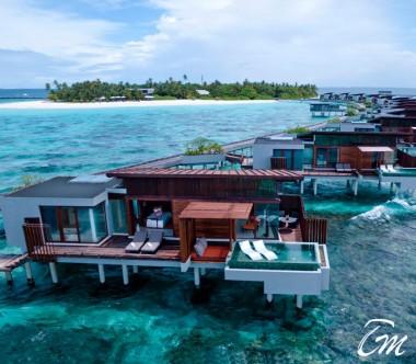 Luxury Park Sunset Ocean Pool Villa - Park Hyatt Maldives