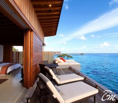 Luxury Park Water Villa Ocean Face - Park Hyatt Hadahaa Maldives