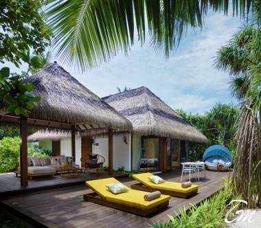 Pullman Maldives Maamutaa Resort Beach Villa Exterior