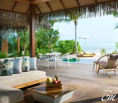 Pullman Maldives Maamutaa Resort Family Pool Villa Sala