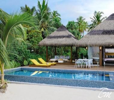 Pullman Maldives Maamutaa Resort Family Pool Villa - Pool