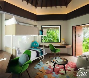 Pullman Maldives Maamutaa Resort Family Villa