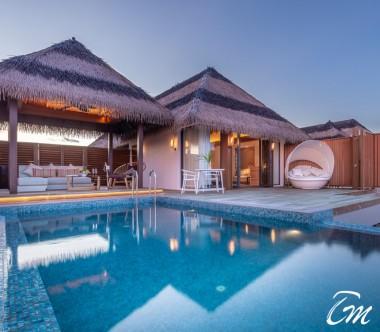 Pullman Maldives - Ocean Pool Villa Exterior