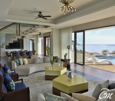 Pullman Maldives Maamutaa Resort Royal Suite Interior