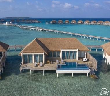 Radisson Blu Resort Maldives 3 Bedroom Overwater Villa with Private Pool