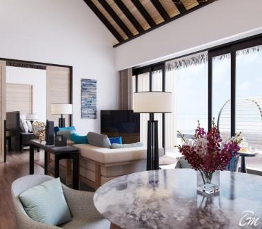 Radisson Blu Resort Maldives 2 Bedroom Beach Suite Villa with Private Pool