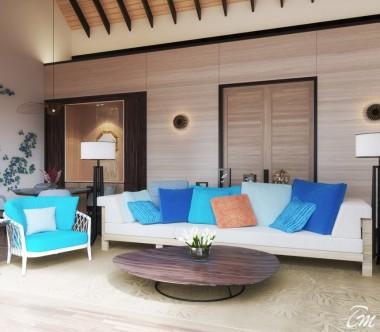 Radisson Blu Resort Maldives 3 Bedroom Family Beach Villa with Private Pool