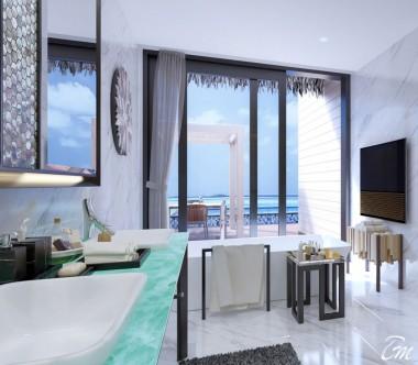 adisson Blu Resort Maldives Overwater Villa with Private Pool