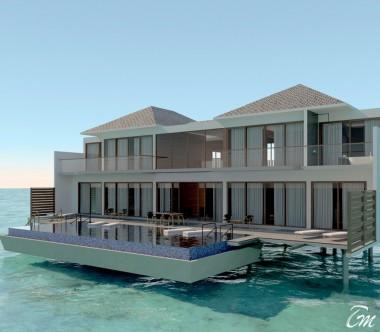 Radisson Blu Resort Maldives Presidential Water Villa