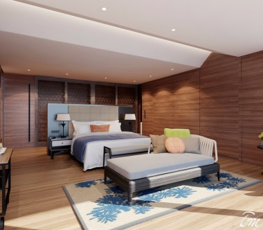 Radisson Blu Resort Maldives Presidential Water Villa Interior