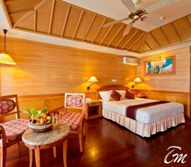 Royal Island Resort and Spa Maldives Beach Villa Bedroom