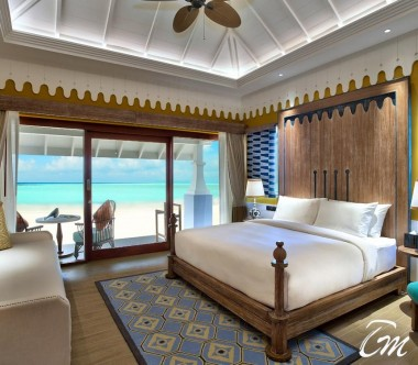 SAii Lagoon Maldives, Curio Collection by Hilton Two Bedroom Beach Villa Interior