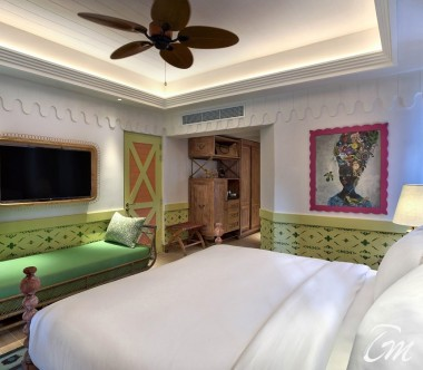 SAii Lagoon Maldives, Curio Collection by Hilton Beach Room Interior