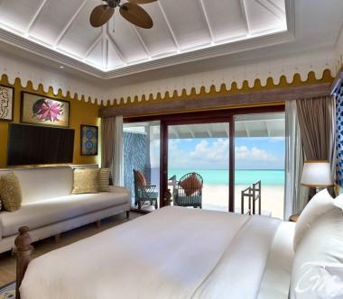 SAii Lagoon Maldives  Beach Villa Interior Ocean Face