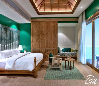 SAii Lagoon Maldives, Curio Collection by Hilton Overwater Villa - Bedroom