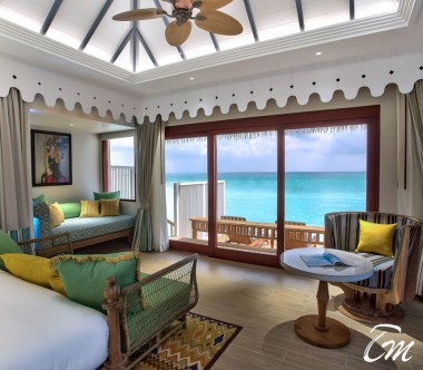 SAii Lagoon Maldives, Curio Collection by Hilton Overwater Villa Ocean Face