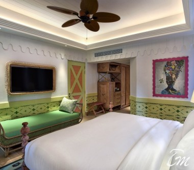 SAii Lagoon Maldives, Curio Collection by Hilton Sky Room Interior
