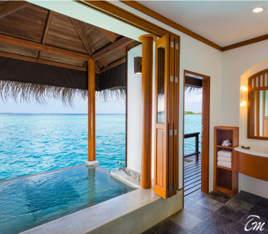 Sheraton Maldives Full Moon Resort and Spa Water Suite with Pool – Two Bedroom