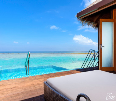 Sheraton Maldives Full Moon Resort and Spa Water Bungalow with Pool